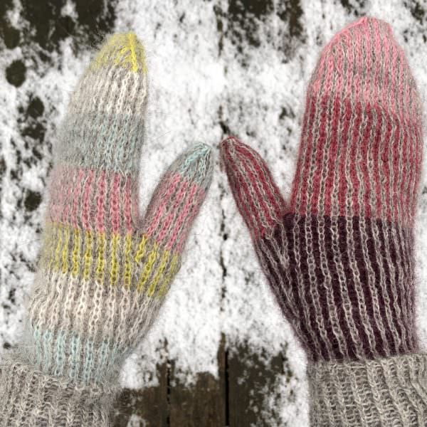Lina mittens with Gilitrutt - knitting recipe